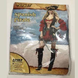 Spirit Spanish Pirate Dress Halloween Costume